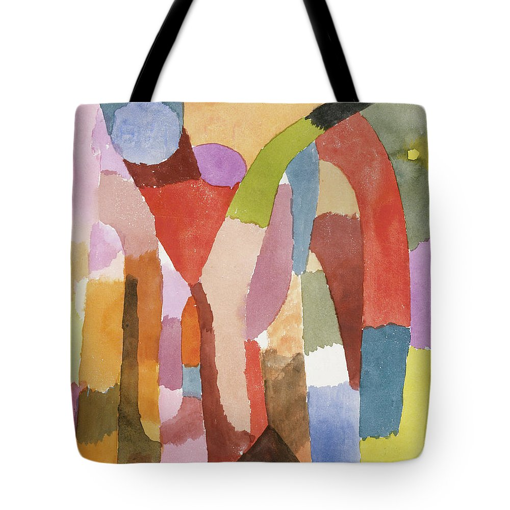 Canvas Art Print Movement of Vaulted Chambers Paul Klee