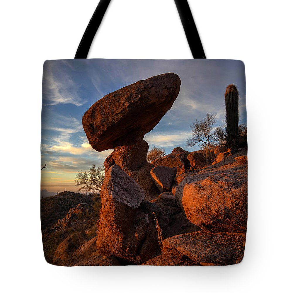 Photography Tote Bag featuring the photograph Ancient Ones by Kati Astraeir