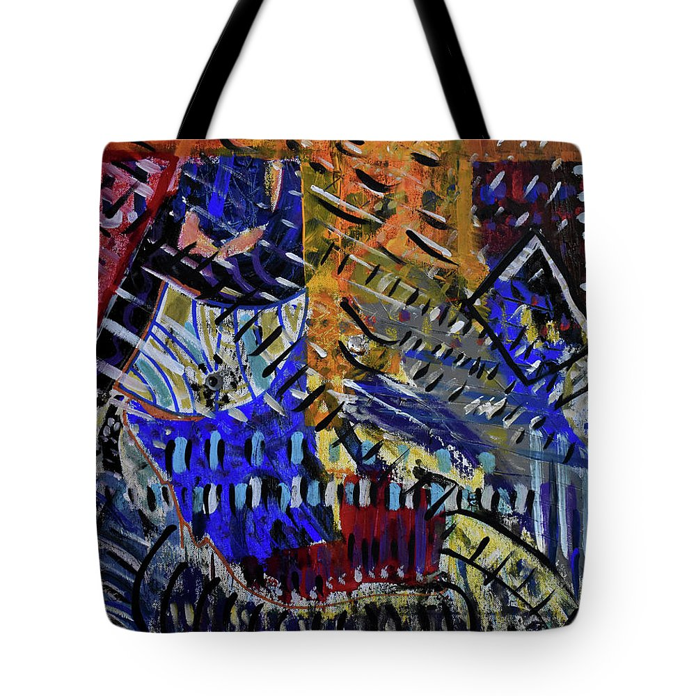 Colorado Tote Bag featuring the painting And Then It Rained by Pam Roth O'Mara