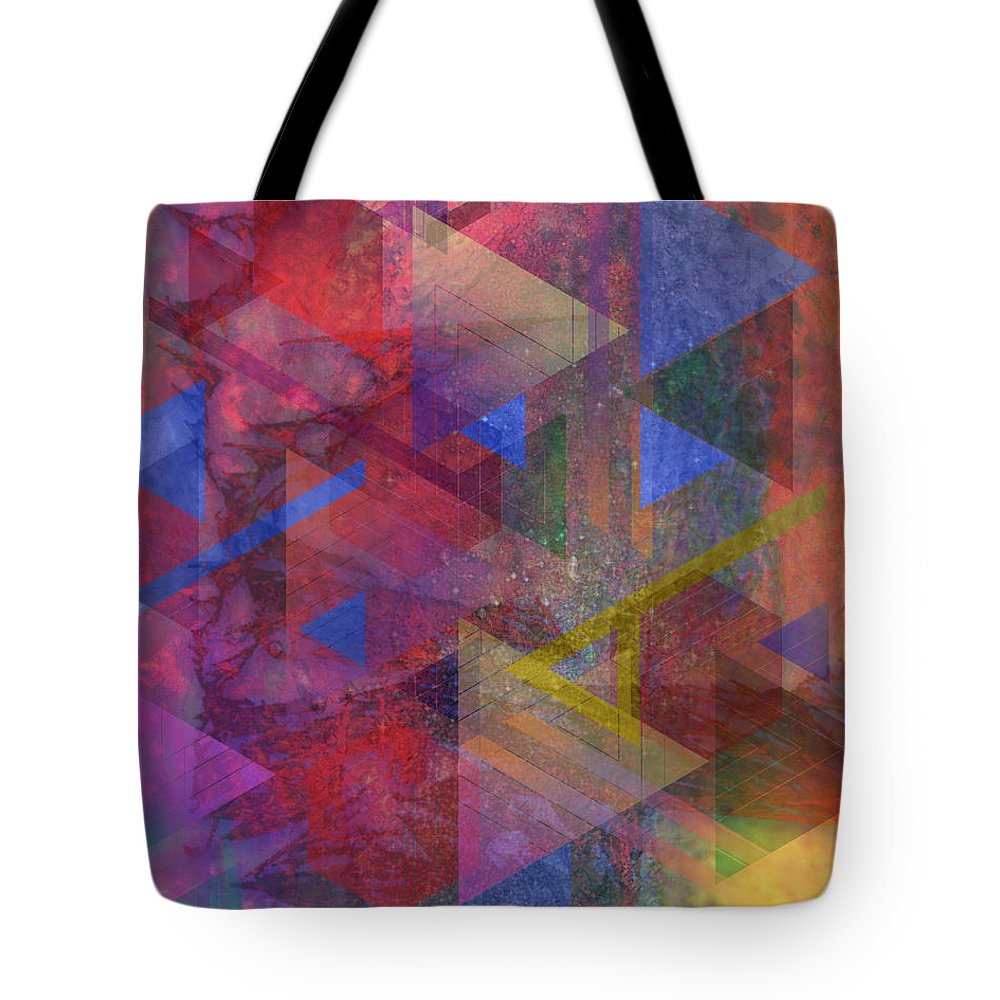 Another Time Tote Bag featuring the digital art Another Time by John Robert Beck