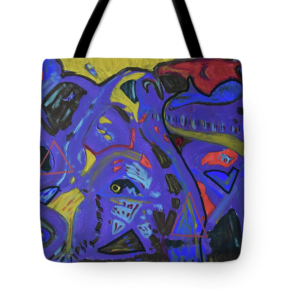 Colorado Tote Bag featuring the painting Apparition by Pam Roth O'Mara