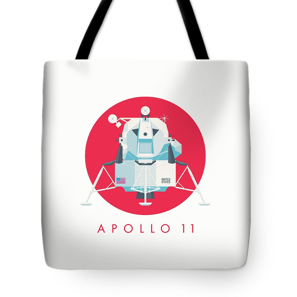 Lunar Module Tote Bags