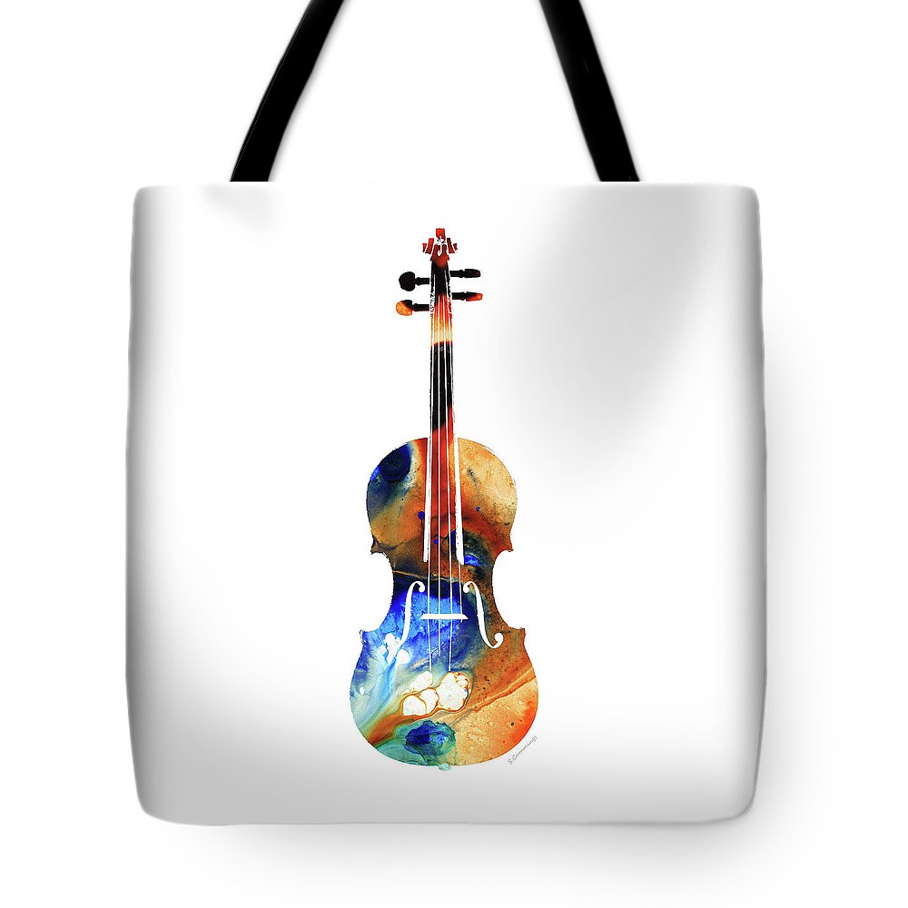 Violins Tote Bags