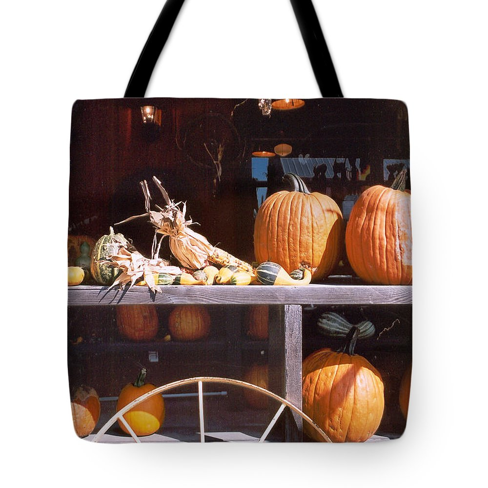 Still Life Tote Bag featuring the photograph Autumn Still Life by Steve Karol