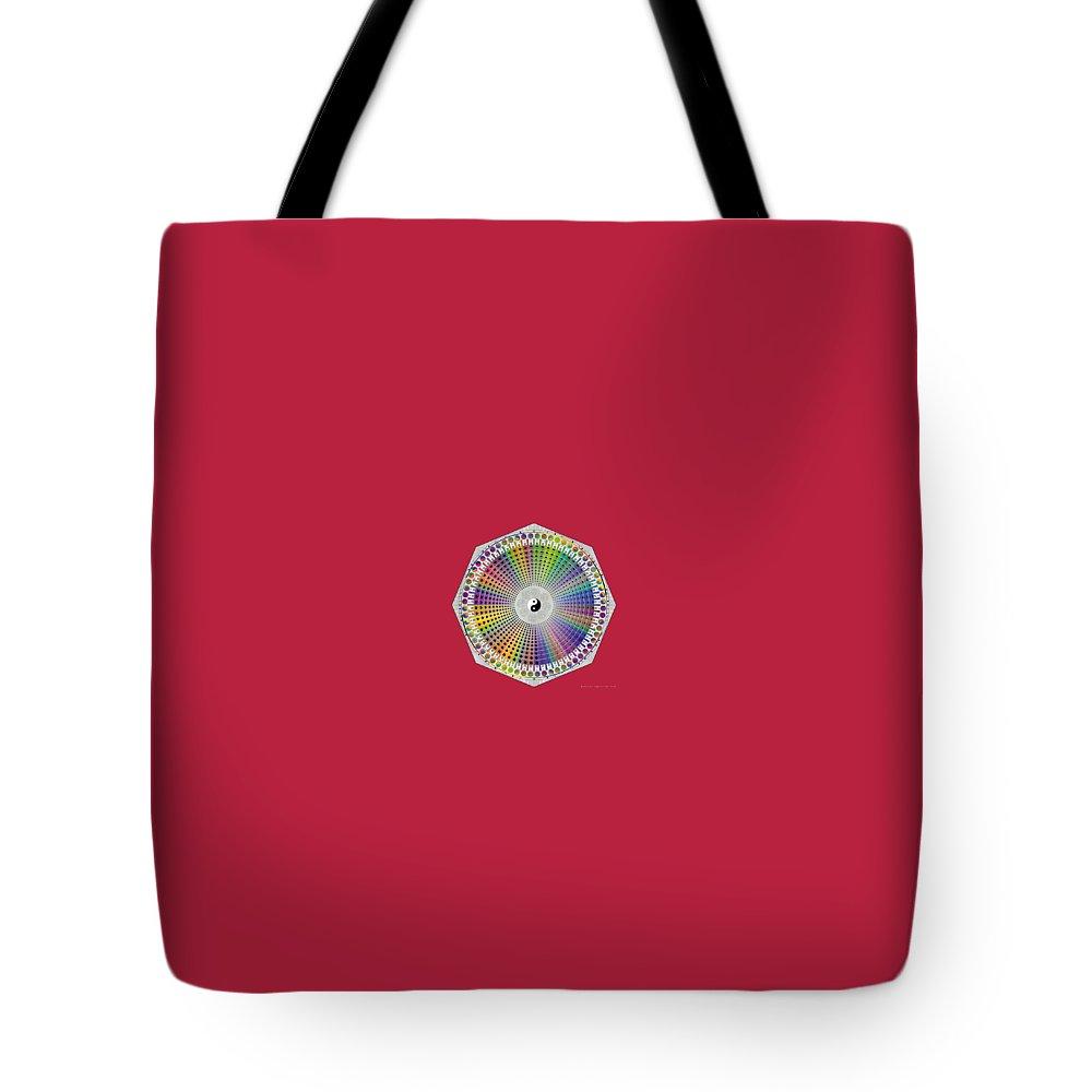 Bagua Hexagram Tote Bag by BaguaFX
