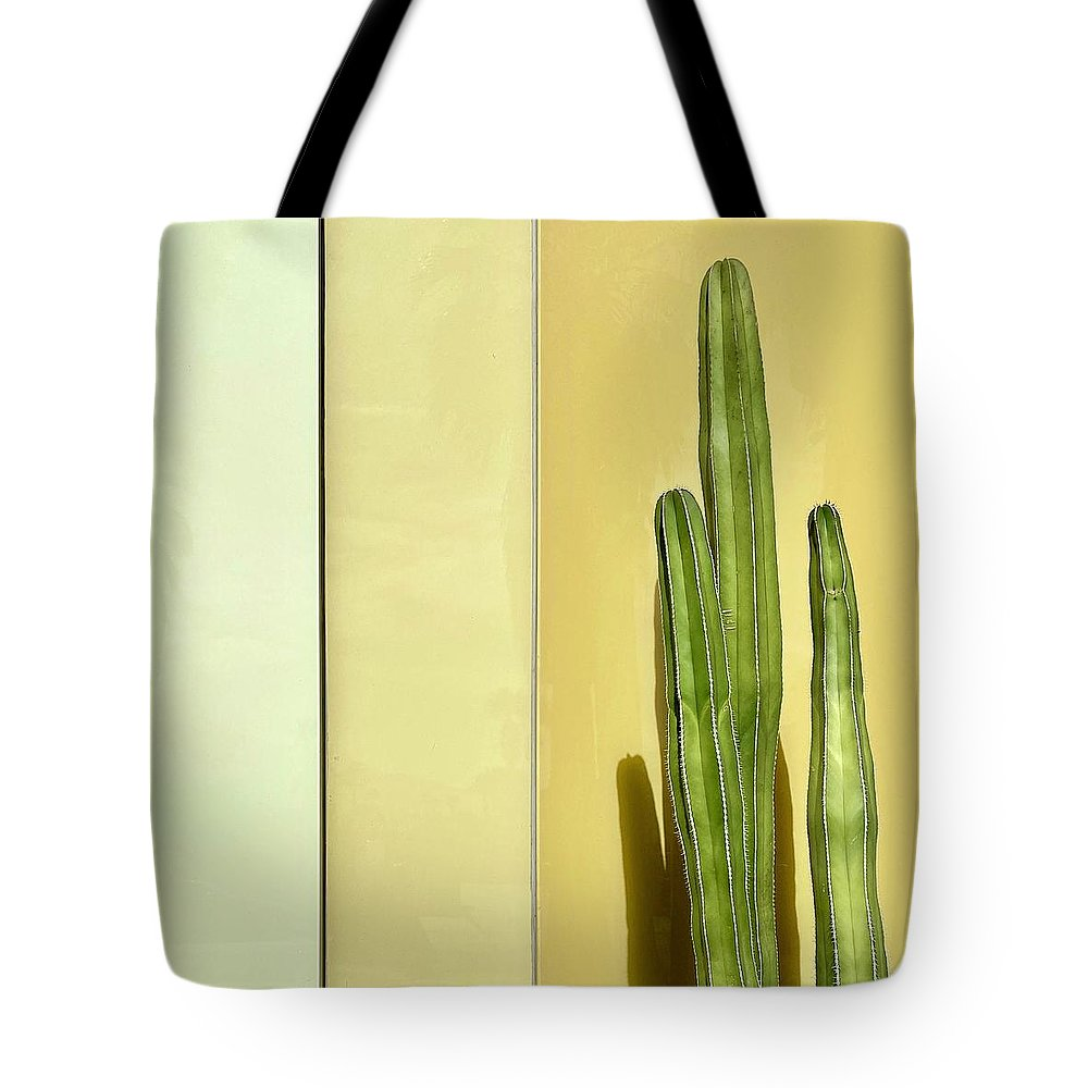 Tote Bag featuring the photograph Cactus by Julie Gebhardt