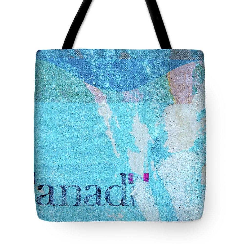 Abstracts Tote Bag featuring the photograph Calm Canada by Marilyn Cornwell