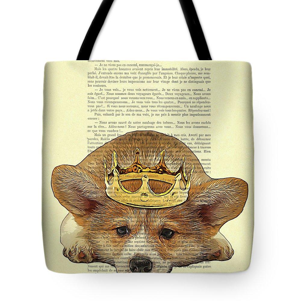 Cardigan Welsh Corgi Canvas Weekender Tote Bag Large Weekend Bag Dog Tote Bag for Dog Mom Cute Dog Gift for Dog Lovers