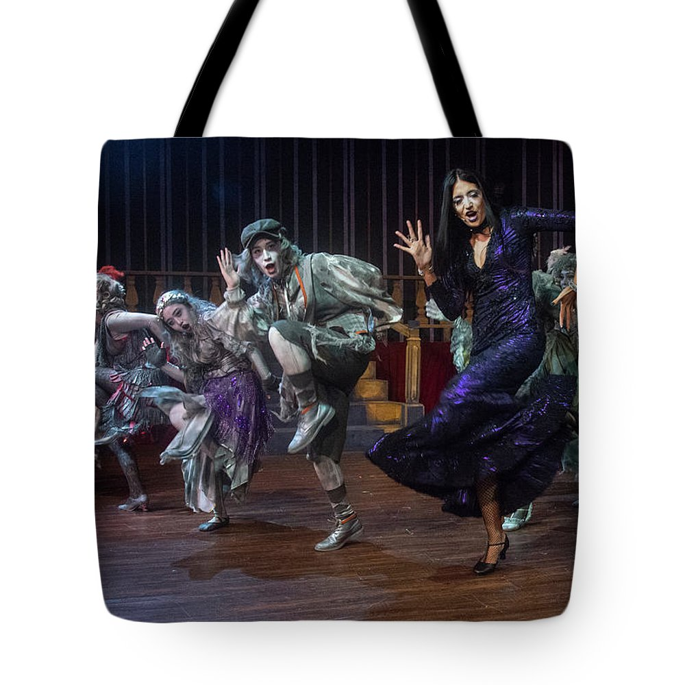 Adams Family Tote Bag featuring the photograph Dance With The Relatives by Alan D Smith