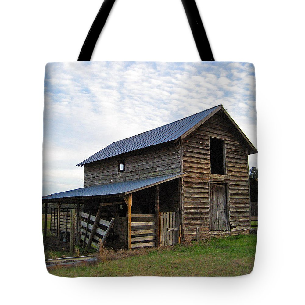 Barn Tote Bag featuring the photograph Days Gone By by Suzanne Gaff
