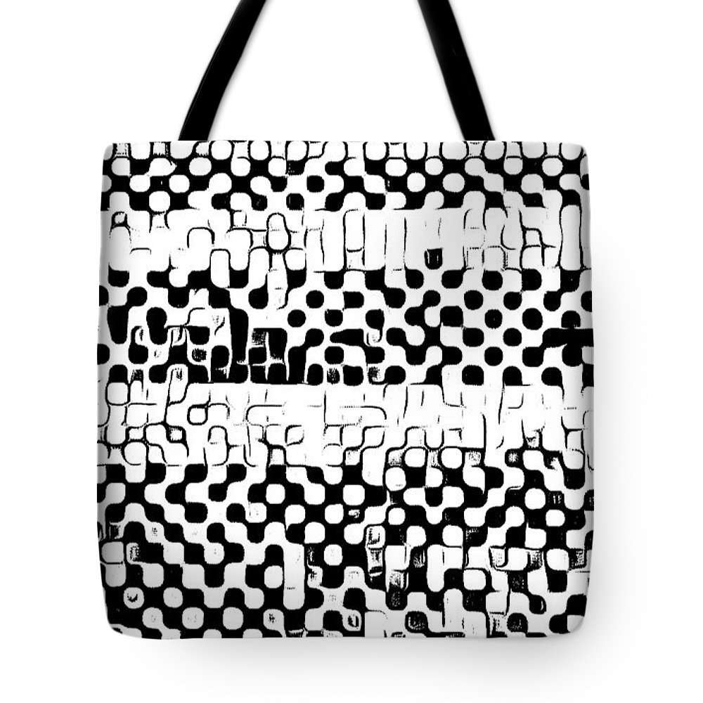 Art Tote Bag featuring the digital art Details by Andrew Johnson