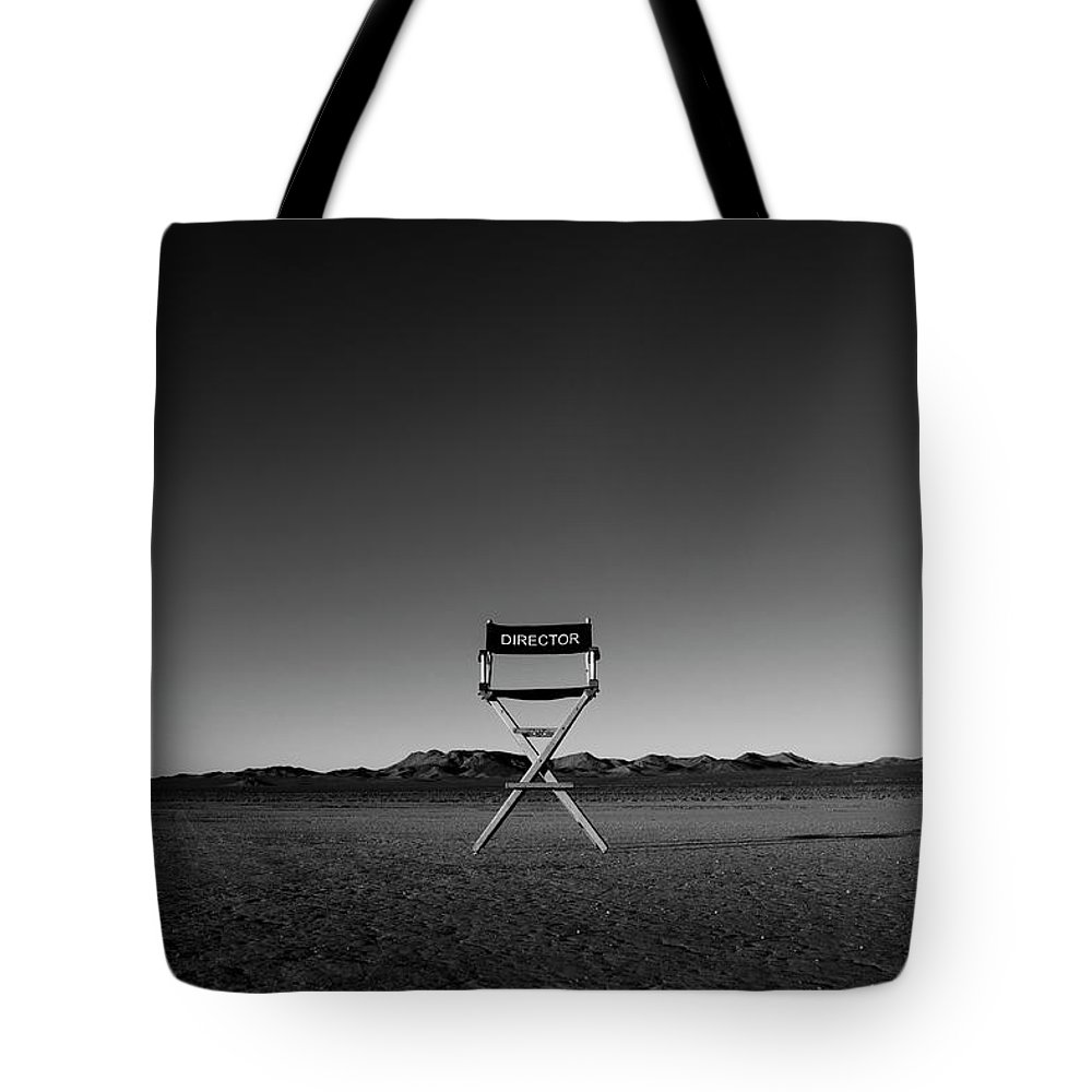 Tote Bag featuring the photograph Director's Cut by Brendan North