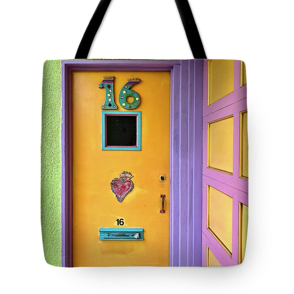 Tote Bag featuring the photograph Door 16 by Julie Gebhardt