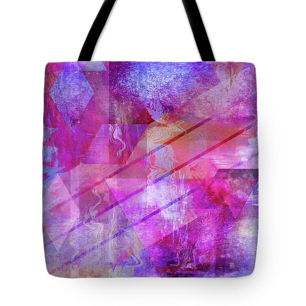 Dragon's Kiss Tote Bag featuring the digital art Dragon's Kiss by John Robert Beck