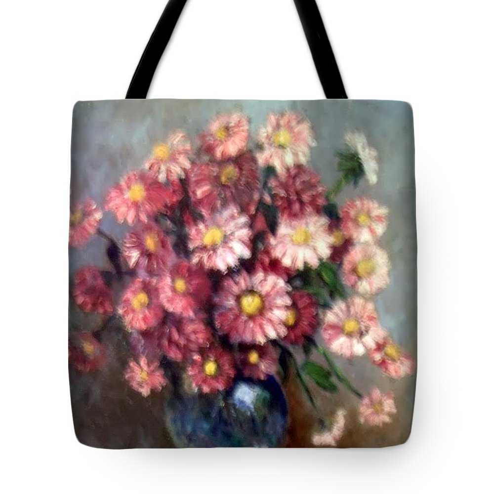 Tote Bag featuring the painting Early Paint by Carol P Kingsley