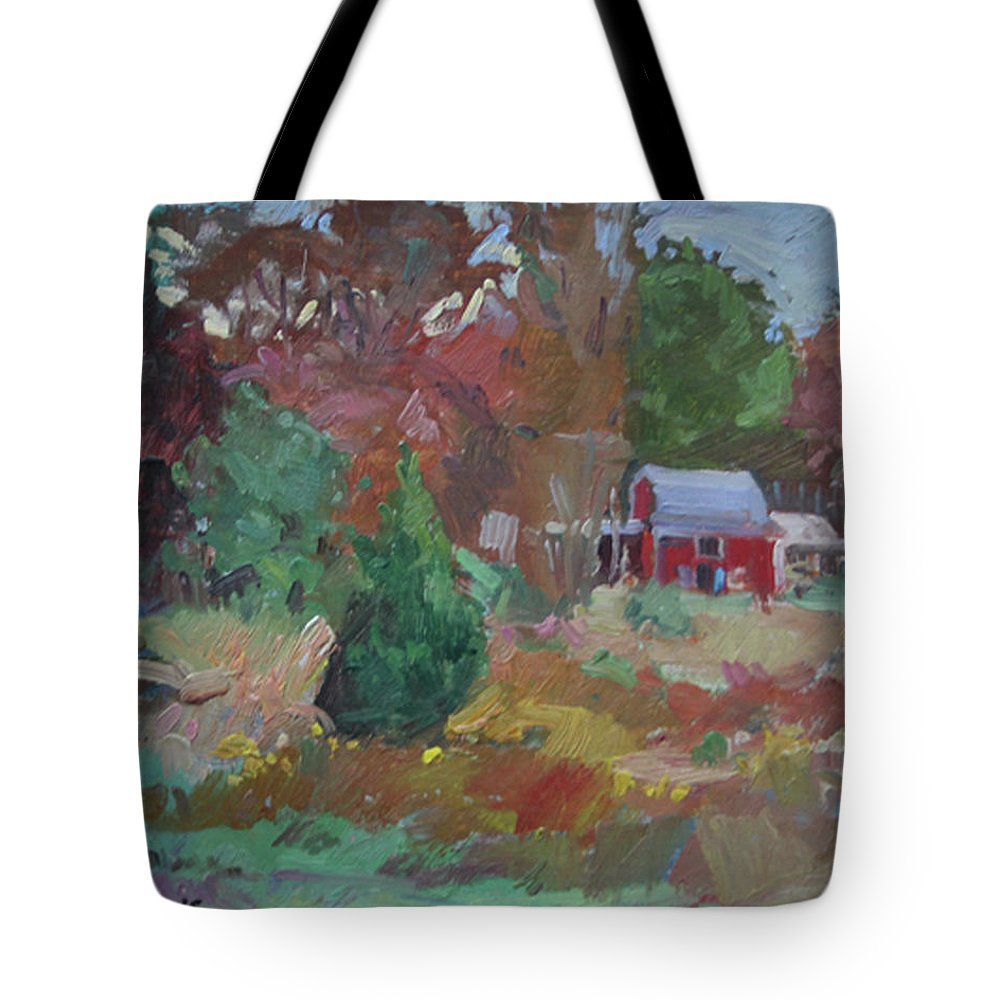 Impressionism Tote Bag featuring the painting Eastern Shore Hideaway by Betty Jean Billups