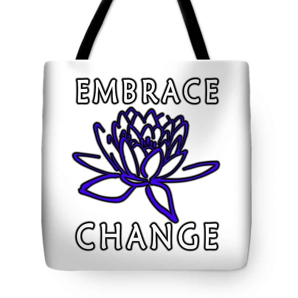 Embrace Tote Bag featuring the digital art Embrace by Junction 116