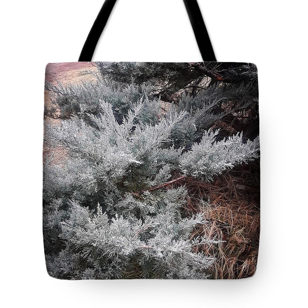First Frost Tote Bags