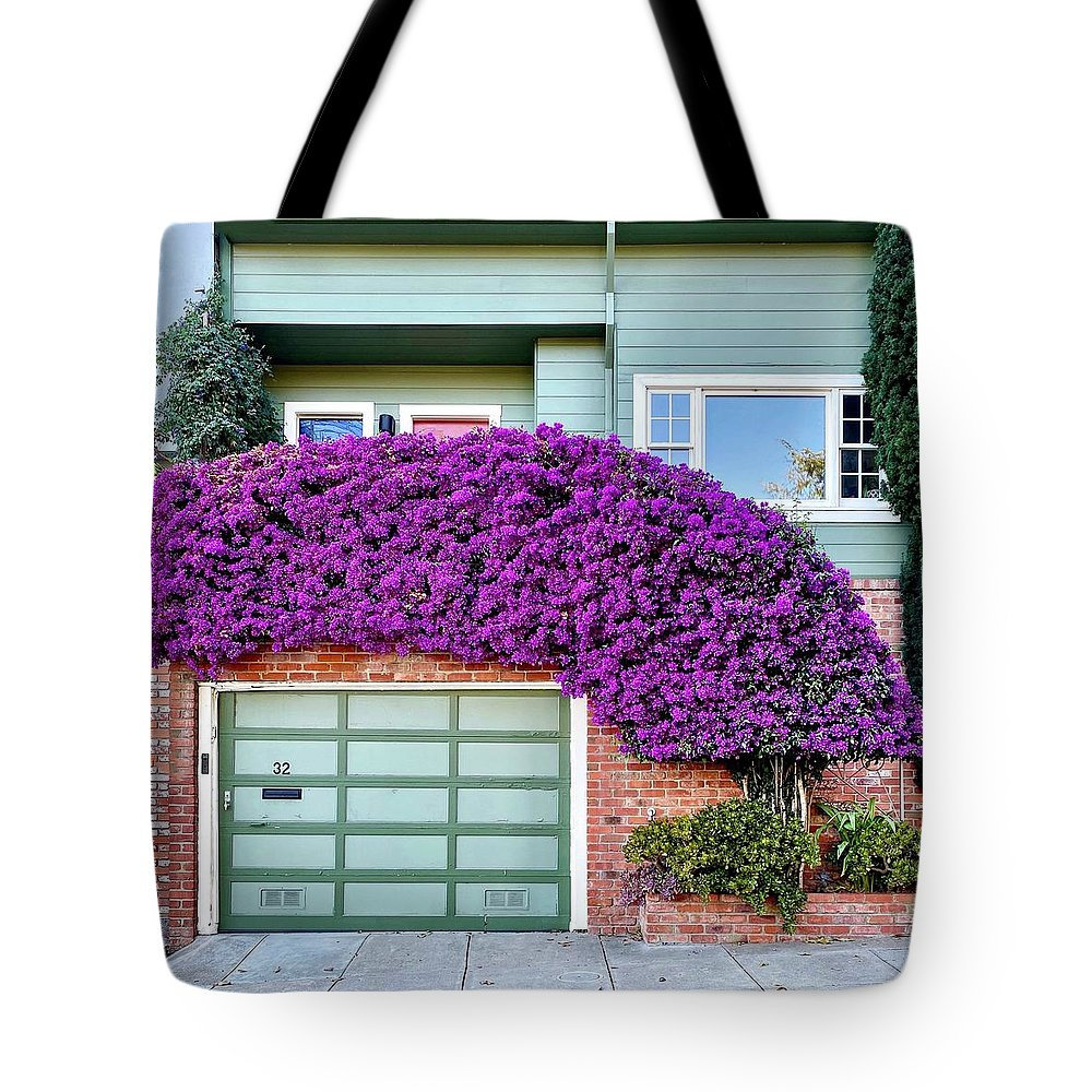Tote Bag featuring the photograph Flower Canopy by Julie Gebhardt
