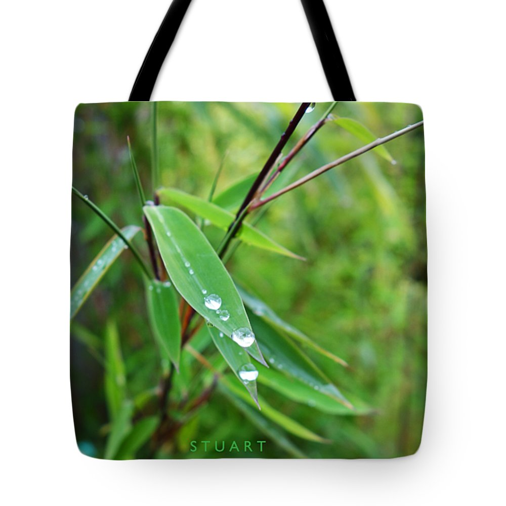 Shades Of Green Tote Bag featuring the painting Forty Shades Of Green by Charles Stuart