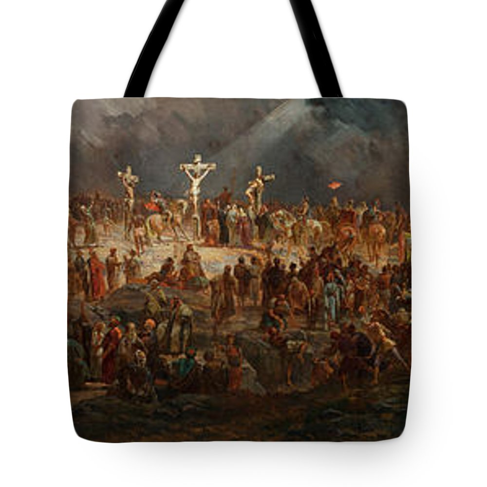 Crown Of Thorns Tote Bags