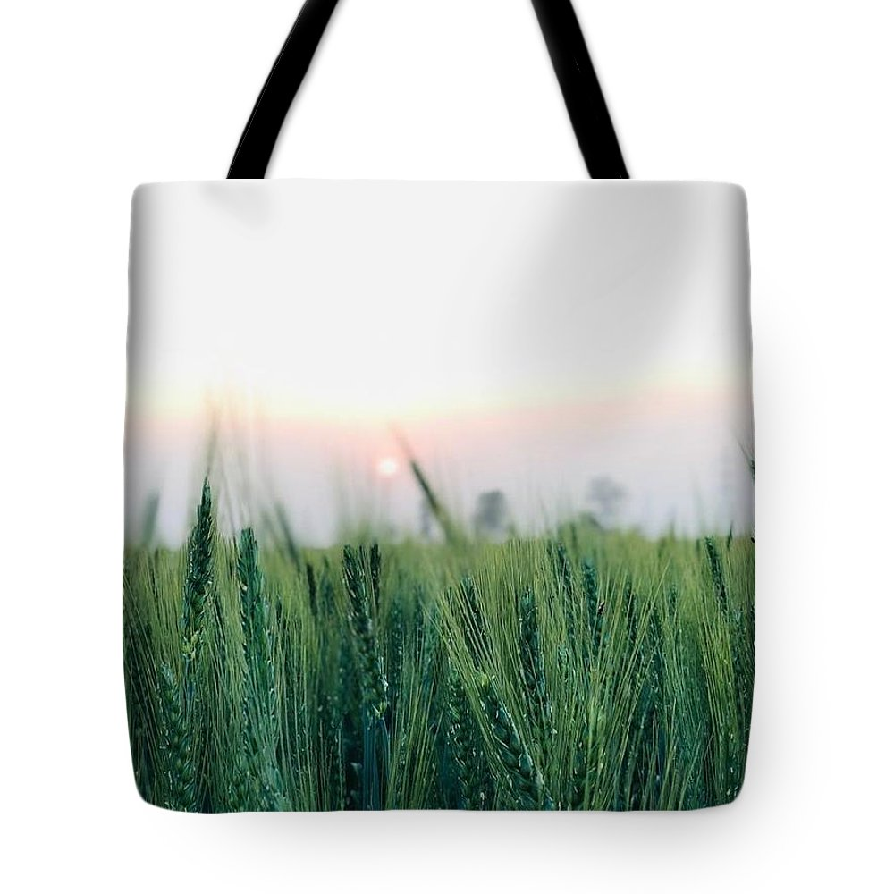 Lanscape Tote Bag featuring the photograph Greenery by Prashant Dalal
