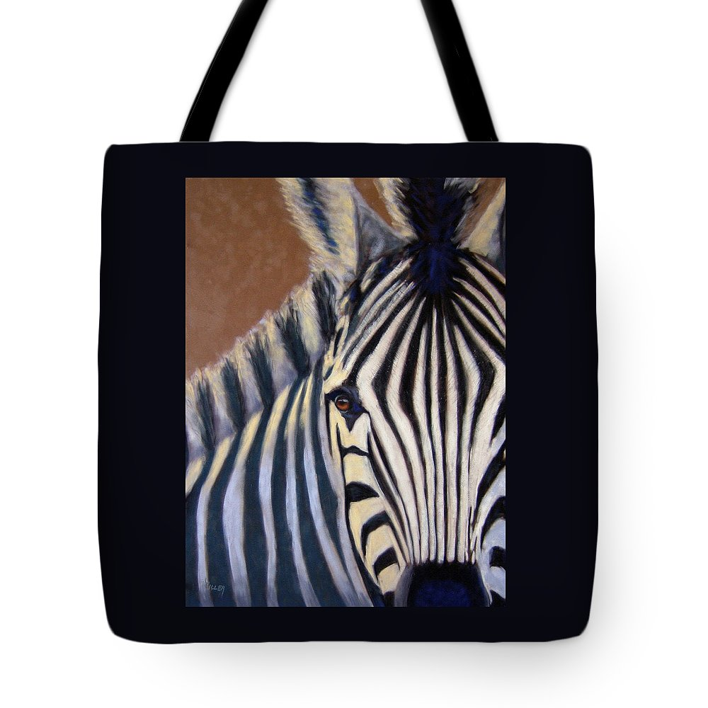 Wildlife Tote Bag featuring the painting Here I Am by Linda Hiller