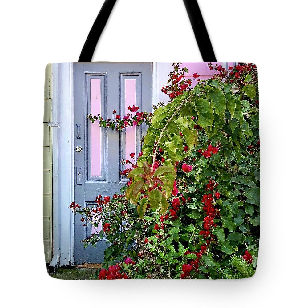 Tote Bag featuring the photograph Hidden Door by Julie Gebhardt