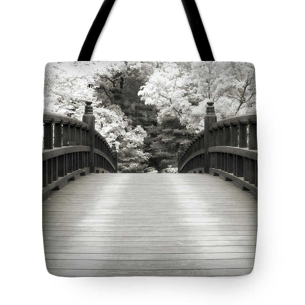 3scape Tote Bag featuring the photograph Japanese Dream Infrared by Adam Romanowicz