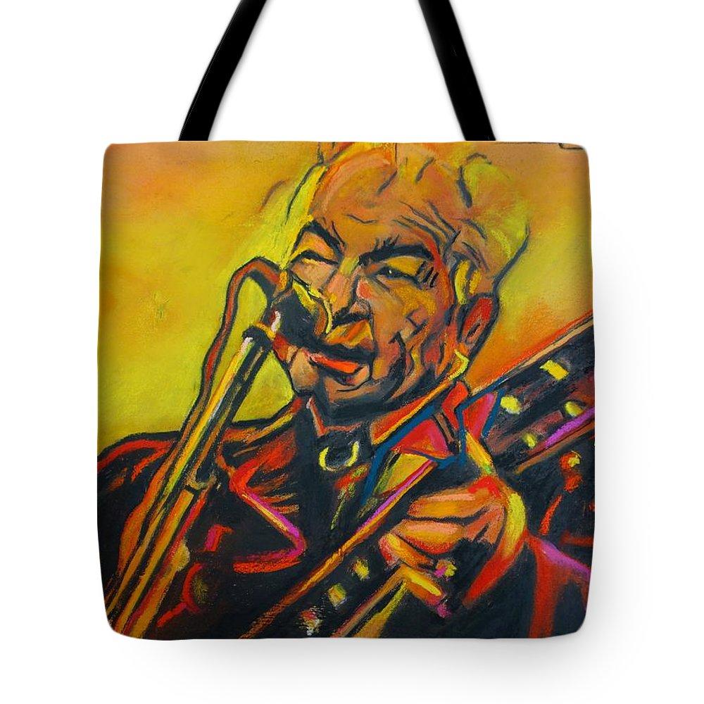 John Prine Tote Bag featuring the painting John Prine - 2020 by Eric Dee