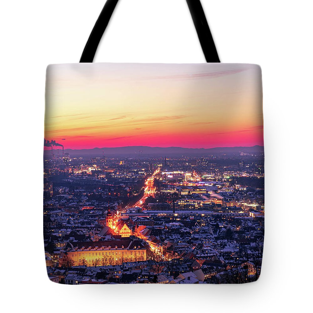 City Lights Tote Bags
