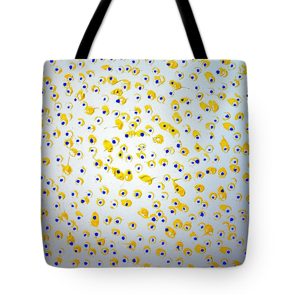 Colorado Tote Bag featuring the painting Labor Day Weekend by Pam Roth O'Mara