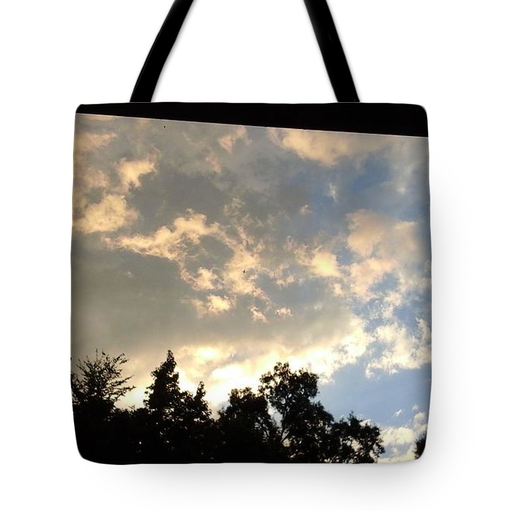 Blue Sky Tote Bags