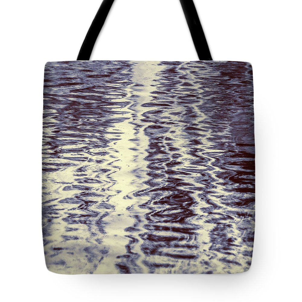 Water Tote Bag featuring the photograph Liquidity by Jorgo Photography - Wall Art Gallery