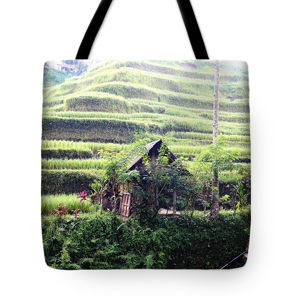 Wild Grass Tote Bags