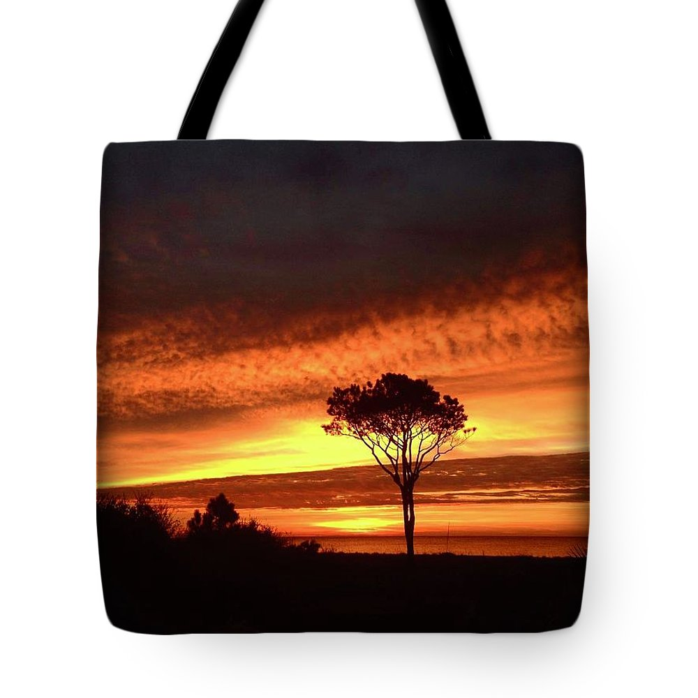 Landscape Tote Bag featuring the photograph Lone Pine 1 by Michael Stothard