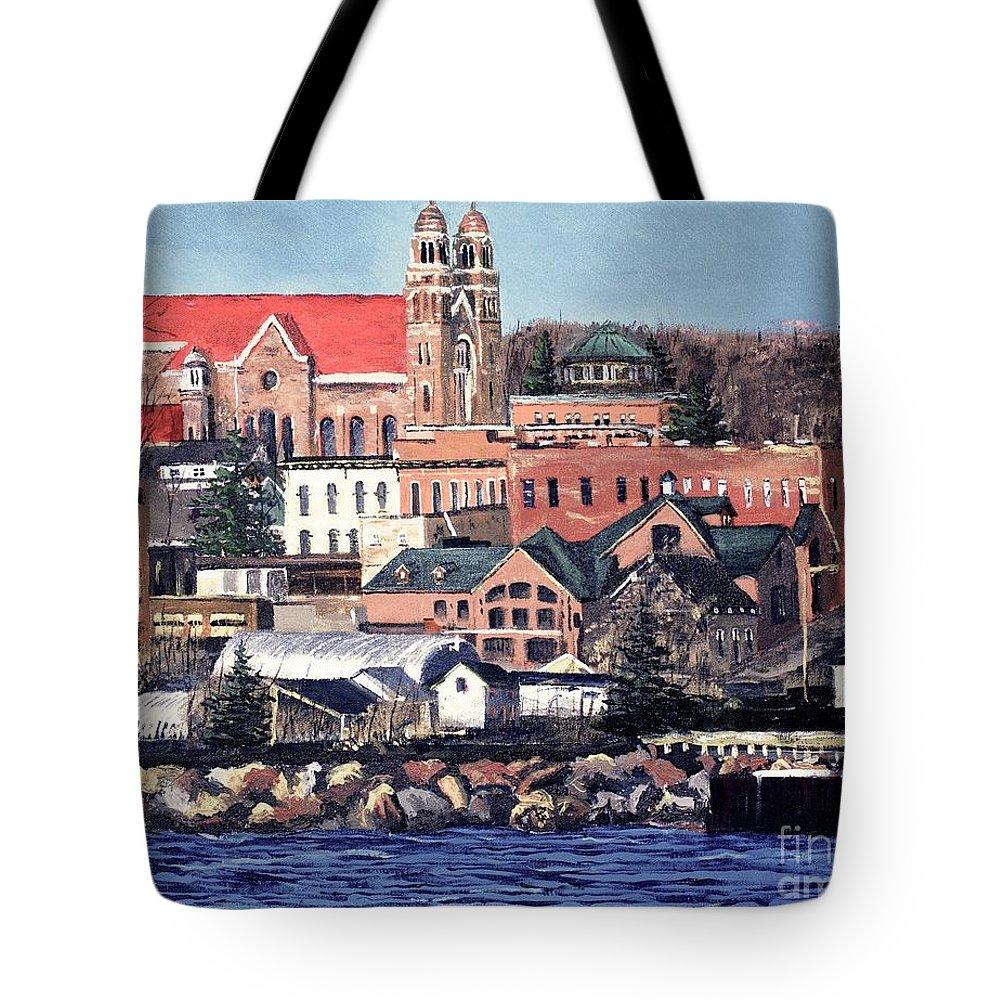 Upper Tote Bags