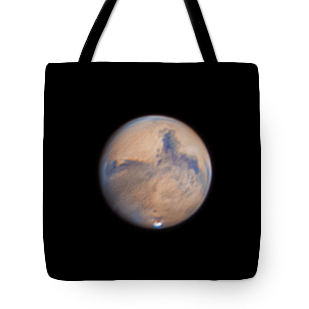 Mars Tote Bag featuring the photograph Mars from 31st October 2020 by Prabhu Astrophotography