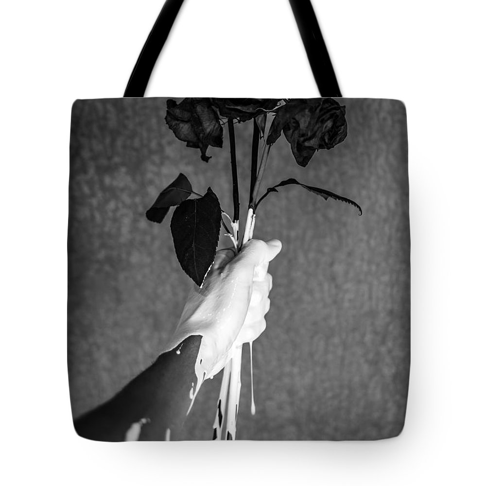Flowers Tote Bag featuring the photograph Moment by Brendan North