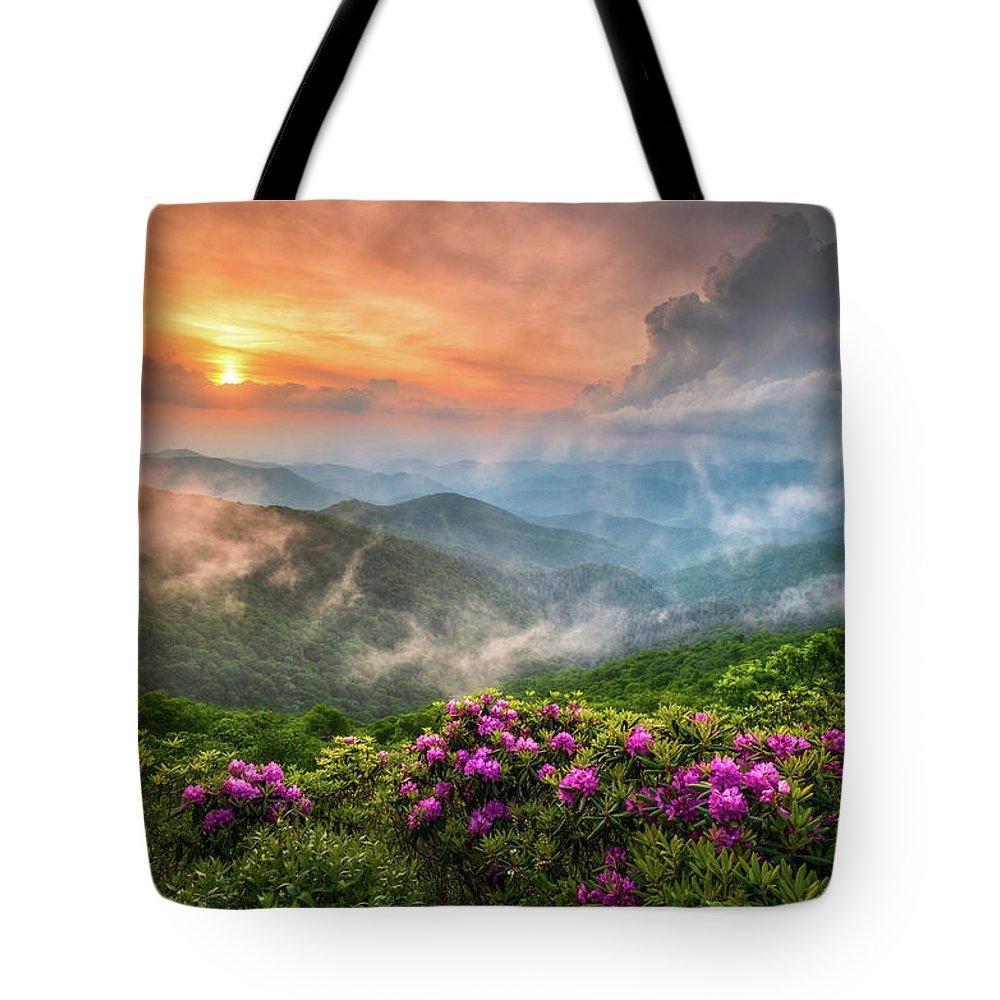 Blue Ridge Parkway Tote Bags