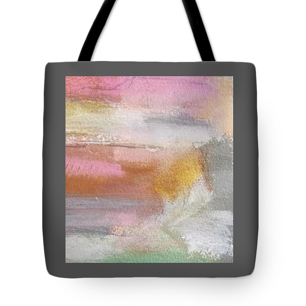 Abstract Tote Bag featuring the painting Nothing Can Dim the Light by Patricia Byron