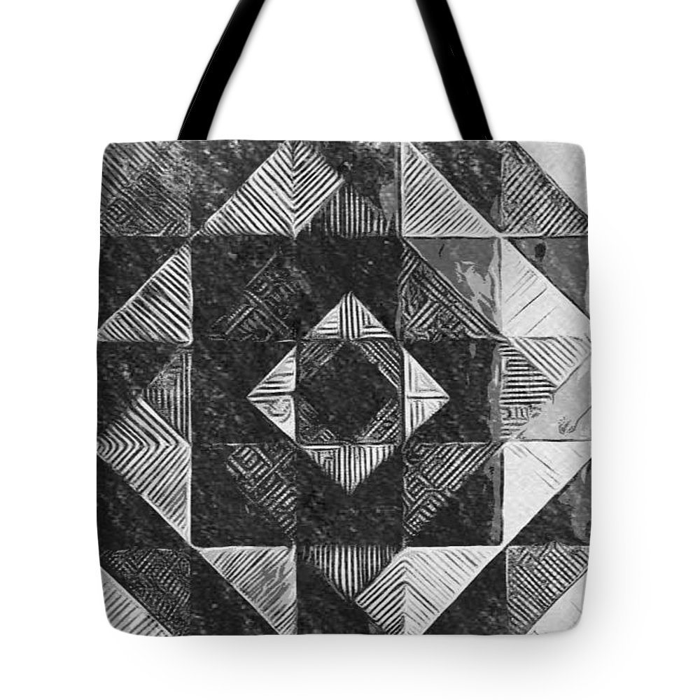 Art Tote Bag featuring the digital art Originated From Within by Andrew Johnson