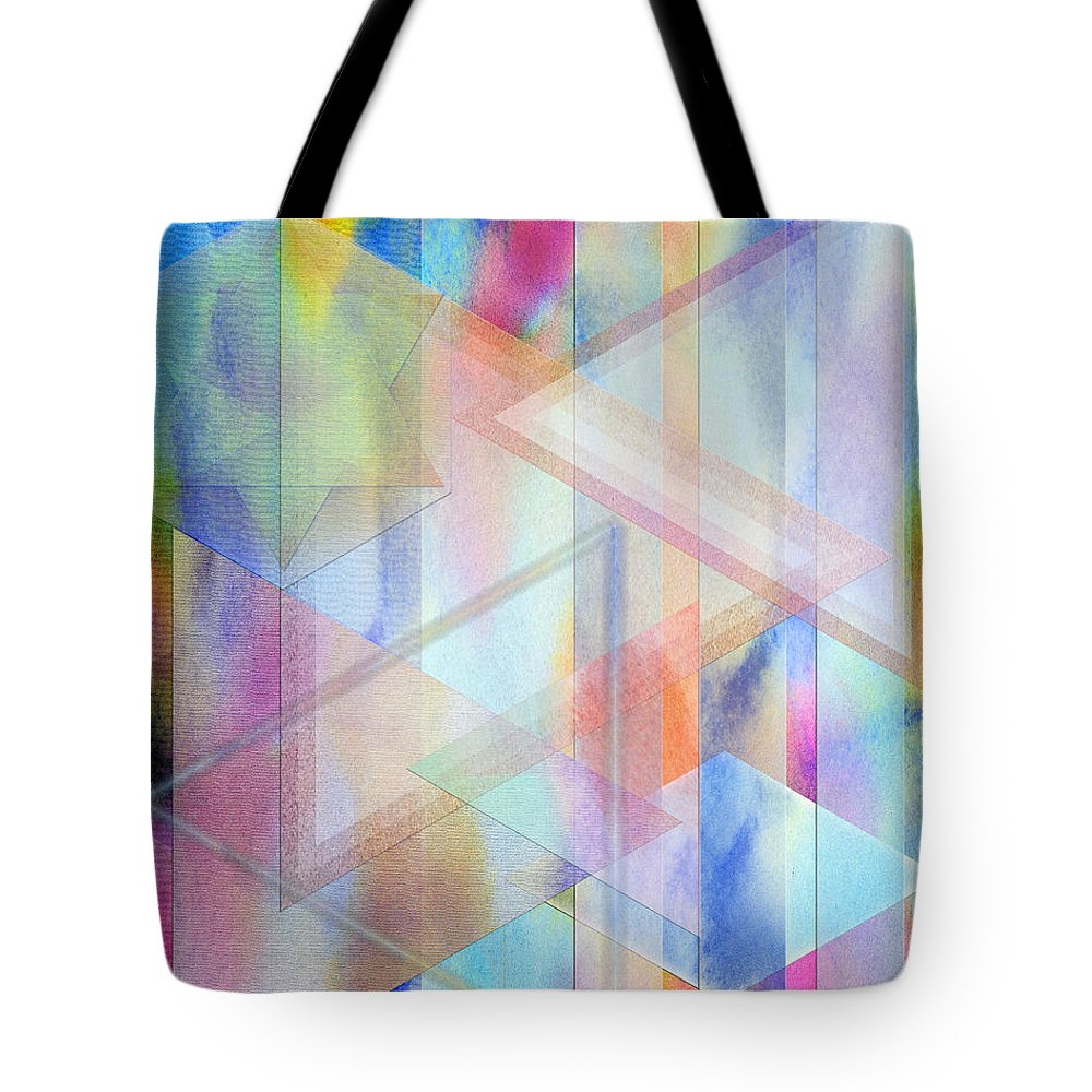 Pastoral Moment Tote Bag featuring the digital art Pastoral Moment by John Robert Beck