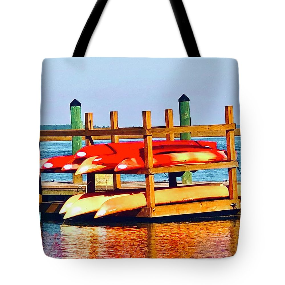 Landscape Tote Bag featuring the photograph Patiently Waiting by Michael Stothard