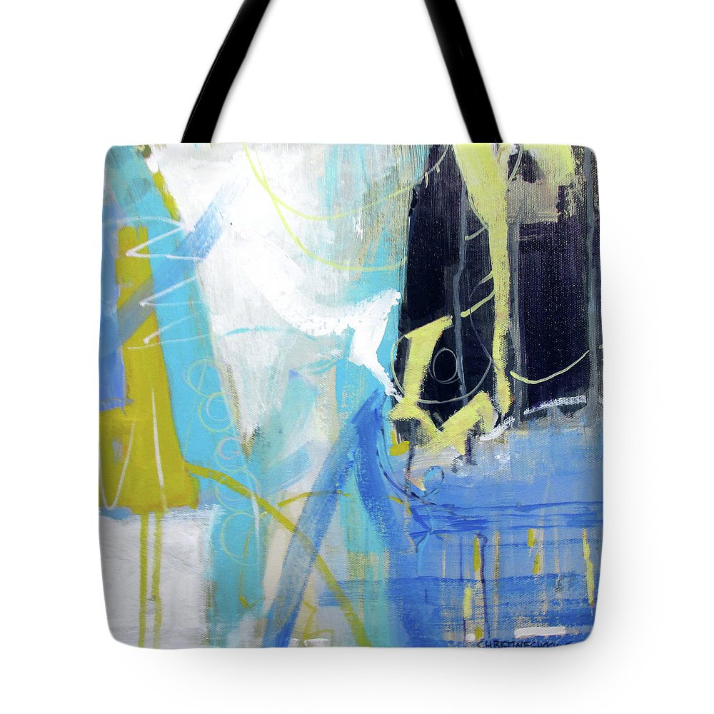 Tote Bag featuring the painting Plaid by Chris Gholson