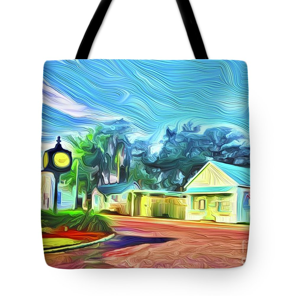Tote Bag featuring the digital art Port Royal by Michael Stothard