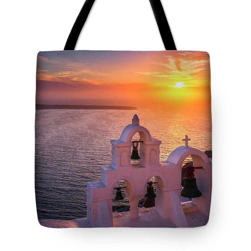Oia Tote Bags