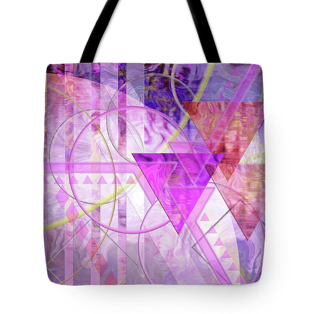 Shibumi Tote Bag featuring the digital art Shibumi Spirit by John Robert Beck