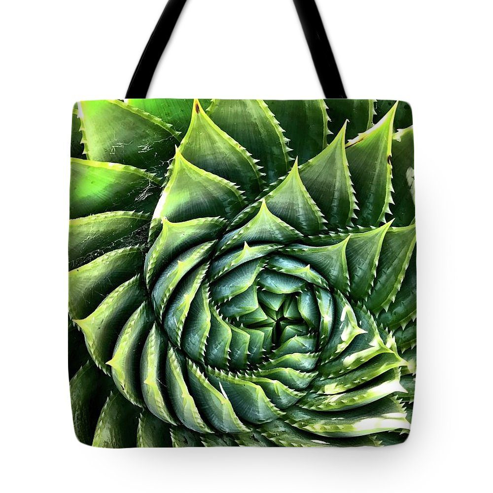 Tote Bag featuring the photograph Spiral by Julie Gebhardt