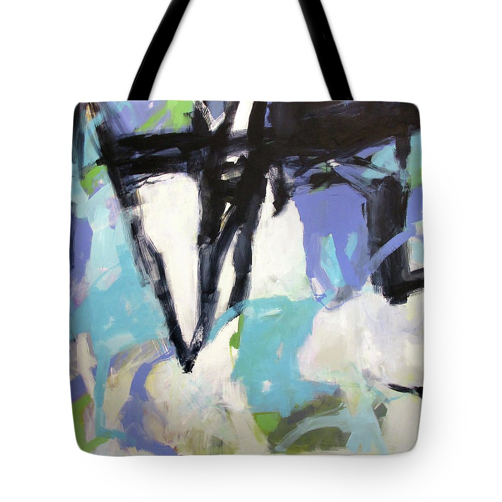 Starry Night Tote Bag featuring the painting Starry Night by Chris Gholson